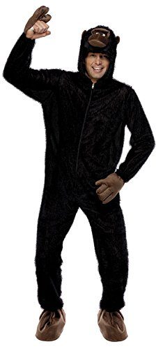 Smiffy's Men's Gorilla Costume with Hood