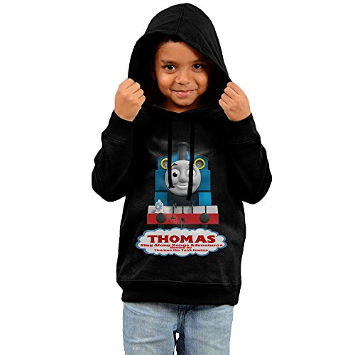 Thomas And Friends 100% Cotton Sweatshirts For Kids Unisex Black (Thomas And Friends The Great Race Gina)