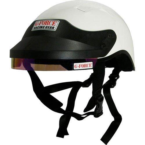 - G-Force 4412LRGWH Pro White Large Crew Helmet