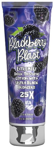 Fiesta Sun BLACKBERRY BLAST 25x Bronzer Tanning Lotion 8 ()
