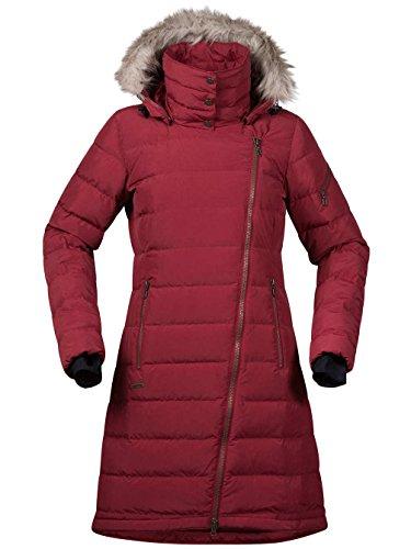 Bergans Bodo Down Lady Coat - Daunenmantel burgundy red PUjOEoXjd