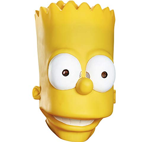 Disguise Men's Bart Adult Costume Mask, Yellow, One -