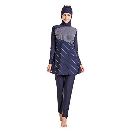 Tumon Bay Muslim Swimwear For Women Islamic Hijab Modest Swimsuit (Asia M--US Size 4-6, ()
