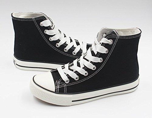 Serafijn Van Het Einde Anime Canvas Schoenen Cosplay Schoenen Sneakers Zwart / Wit Zwart 2