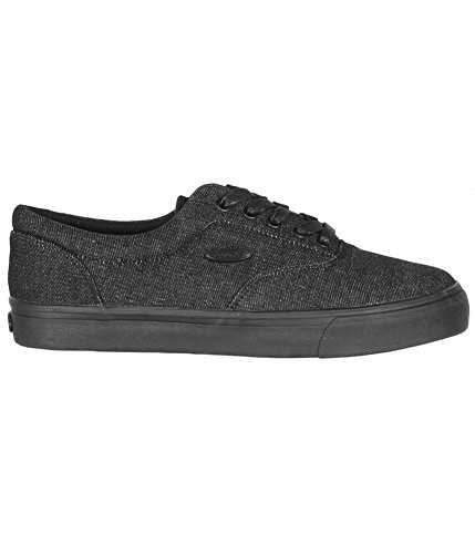 Sneakers Denim Lugz Mens Black Vet HqwZA