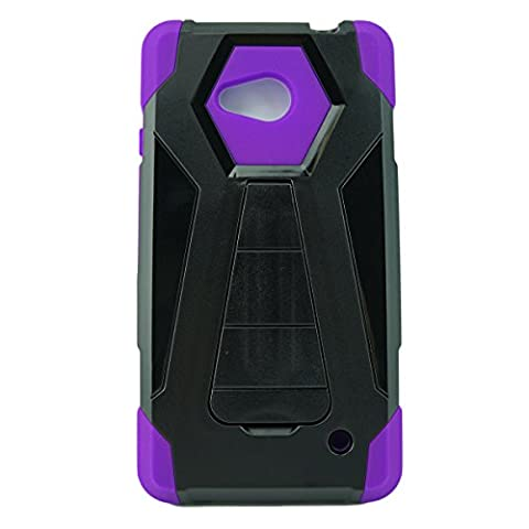 Mstechcorp- For Lumia 640 Case, Microsoft Lumia 640 Microsoft Lumia 640 Dual Layered Heavy Duty Silicone Skin Hybrid Armor Case With Kickstand (Y STAND (Nokia Lumia 1520 Belkin Case)