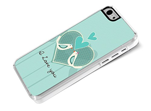 Master Case - Coque iPhone 5C Saint Valentin 2014 - I Love You - Birds