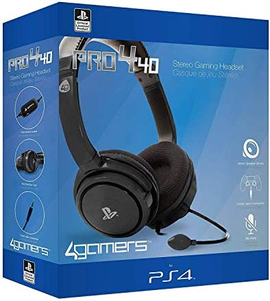 Buy 4Gamers PRO4 40 PS4 Headset