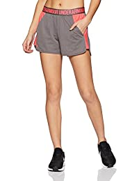Under Armour Play Up 2.0 - Pantalones Cortos para Mujer