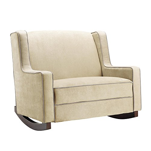 Baby Relax Hadley Double Rocker, Beige by Dorel Living