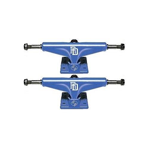 Silver S-Class Trucks Skateboard Rob Dyrdek Athletic Blue 7.75 In Blue
