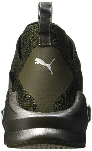 Puma Silver olive Night De Evoknit Femme Chaussures Fierce Vert Fitness Metallic 7H1v7wr