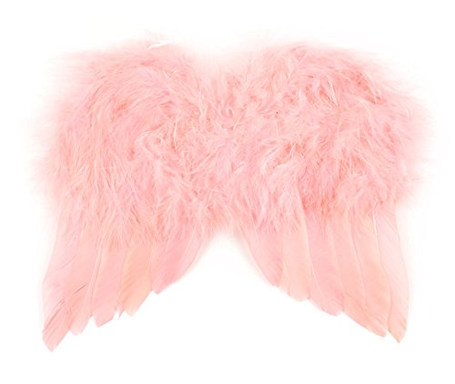 Touch of Nature 11061 Mini Feather Angel Wing, Salmon 6 X 7-Inch -