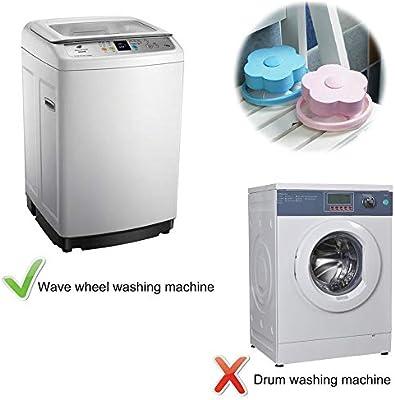 INMOZATA - Bolsa de malla reutilizable para lavadora, atrapa ...