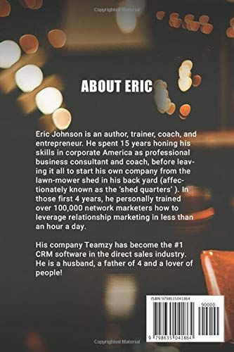 Power Hour Boss How To Build A Relationships Based Business In Less Than An Hour A Day Johnson Eric P 9798635041864 Amazon Com Books