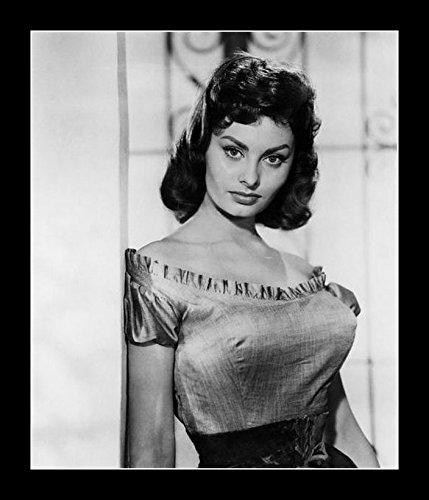 - 8 x 10 All Wood Framed Photo Sophia Loren (2)