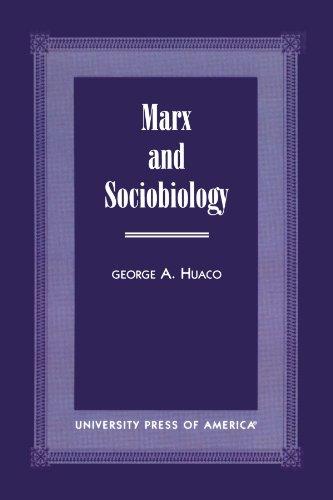 Marx and Sociobiology