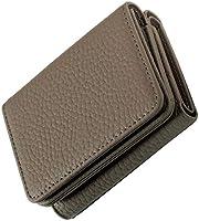 RICKERS ミニ財布 三つ折り財布 レディース 本革 コンパクト 小さい 小銭入れ付 ニュアンスカラー5色