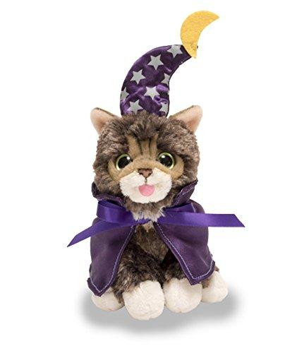 Cuddle Barn Halloween Kitten Cat Plush Toy 5.5