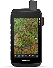 """Garmin Montana 750i, Rugged GPS Handheld with Built-in inReach Satellite Technology and 8-megapixel Camera, Glove-Friendly 5"""""""" Color Touchsreen (010-02347-00)"""