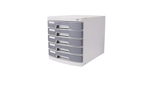 Archivadores Escritorio de Oficina A4 Cajón con Cerradura de plástico Xuan - Worth Having: Amazon.es: Hogar