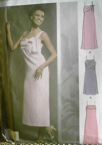 15928ef6c0 Simplicity Womens Pattern 5048 Pullover Slip Dress with Variations Size 12- 18