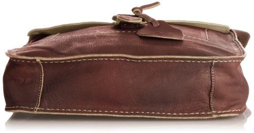 Fly London Spot - Bolso bandolera de cuero mujer marrón - canela