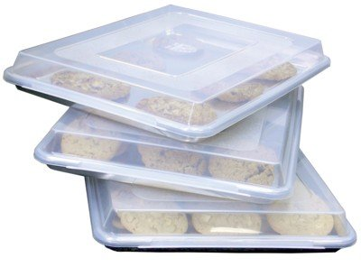 Libertyware 18 X 13 Jelly Roll Half Size Cookie Sheet Pan and Cover by Libertyware (Image #3)