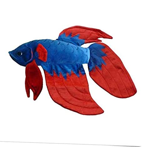 Amazon Com Plush 20 Flare The Betta Fish Stuffed Animal Plush Toy