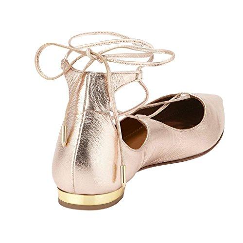 Zeppa donna con Sandali Golden Jushee Pink qTEHwA