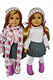 WINTER SWEATER SET FOR AMERICAN GIRL DOLLS 5 PIECES