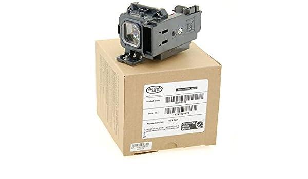 Alda PQ Original l/ámpara de marca con PRO-G6s viviendas L/ámpara de proyector para VIVITEK D554 Proyectores