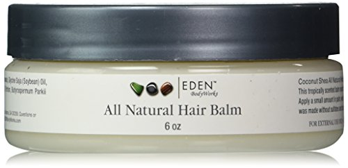 Eden BodyWorks Coconut Shea Hair Balm, 6 Ounce