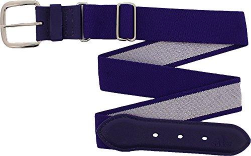 Adidas Youth Baseball Belt (Purple, Youth)
