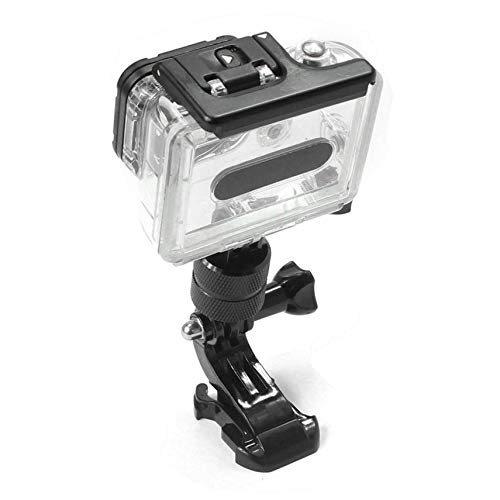 Aluminum Alloy Fixed Base Rotation Arm Flexible 360 Degree Rotating Swivel Arm Mount Adapter Pivot Arm for GoPro 5//4// 3