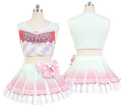 Love Live! National Otonokisaka School Minami Kotori Cosplay Costume cheering (Cosplay Store Near Me)