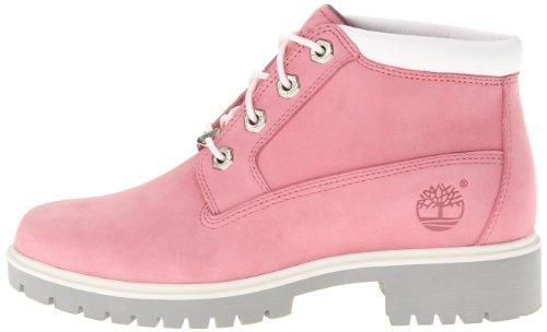 d44df38d9eff8 Timberland Women's Nellie Premium Boot,Bubble Gum Pink Nubuck,US 7.5 M