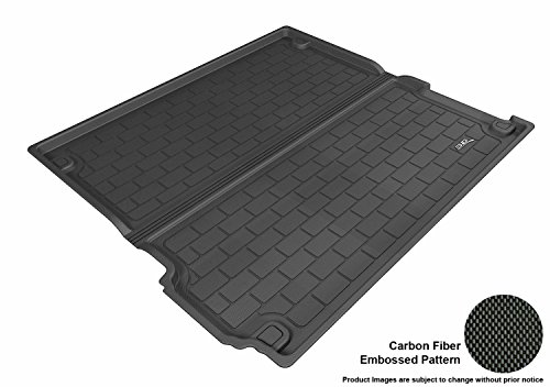 3D MAXpider Custom Fit All-Weather Cargo Liner for Select BMW X5 (F15) Models - Kagu Rubber (Black)