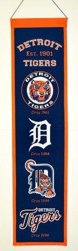 (MLB Detroit Tigers Heritage Banner)