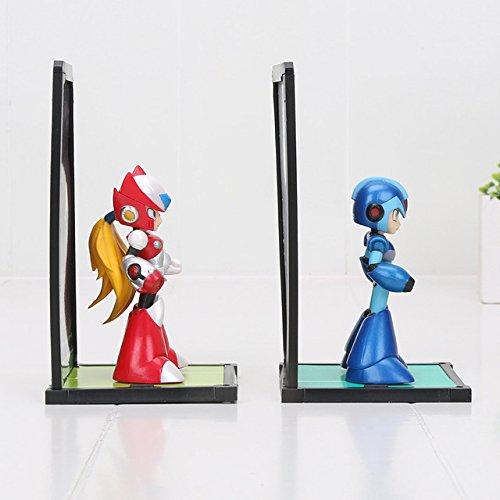Game, Fun, 10cm 2pcs/set Tamashii Nations Buddies Mega Man Rockman Zero PVC Figures Collectible Model Toys, Toy, Play