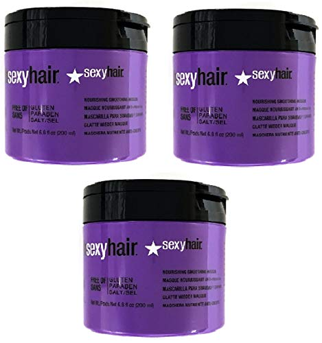 3 Pack Hair Smooth Extender Nourishing Masque with Coconut Oil 6.8 oz