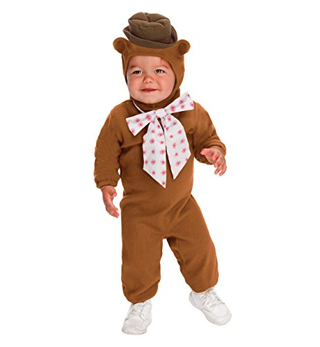 The Muppets Romper And Headpiece Fozzie Bear, Fozzie Print, 6-12 Months - Disney Family Halloween Costume Ideas