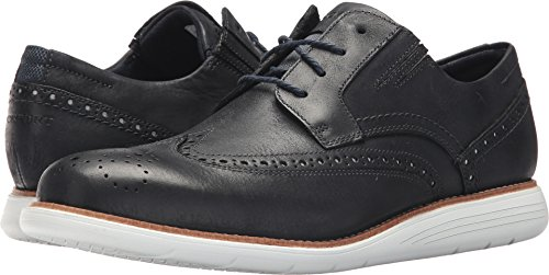 Rockport Mens Total Motion Sports Dress Perf Wing Tip New Dress Blues 2 8.5 M (D)