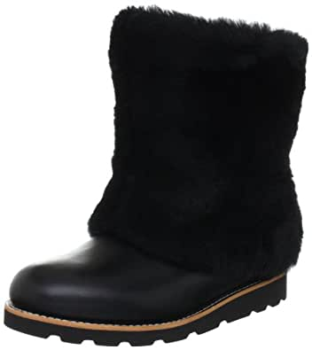 UGG Australia Women's Maylin Boots,Black Leather,7 US