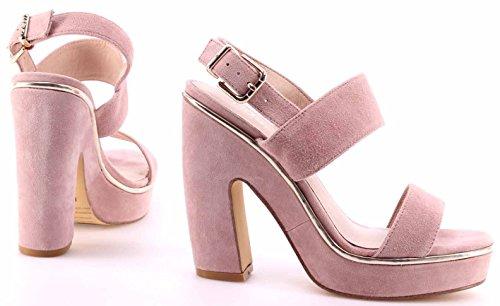 Liu Jo Damen Pumps Schuhe Sandals Glace Sandalo Noemi Wildleder Rosa Neu XoRWml15