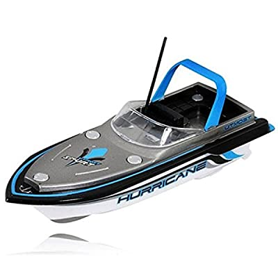 Hotkey® Radio RC Remote Control Super Mini Speed Boat Dual Motor Toy Blue
