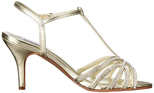 Dress Lexi Inc Dyeables Womens Gold Metallic Sandal qtwqpEnd