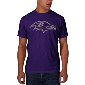 NFL Baltimore Ravens Men's '47 Brand Scrum Basic Tee by Amazon.com, LLC *** KEEP PORules ACTIVE ***