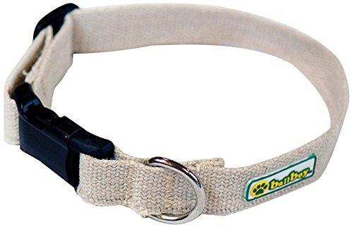 BallBoy-The-Natural-Collar-Hemp-1-by-12-20-Inch-Webbing-Dog-Collar-Large