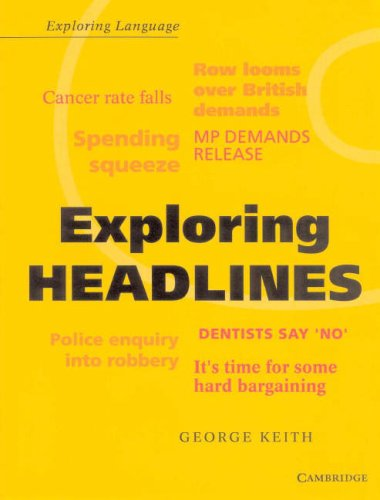 Exploring Headlines (Exploring Language)